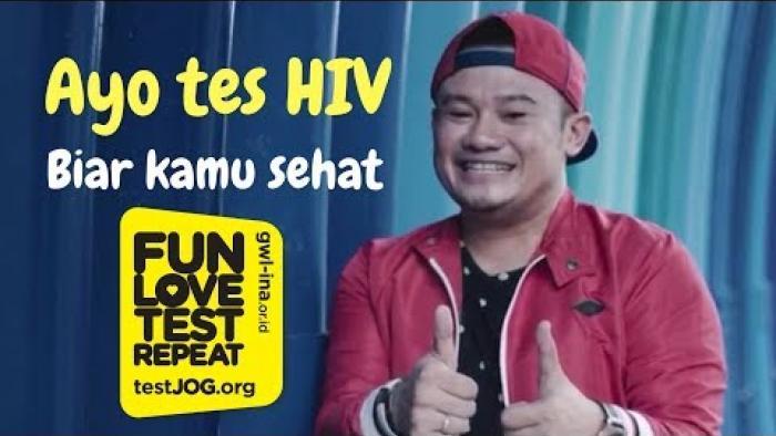 Embedded thumbnail for Ayo tes HIV! Biar kamu, sehat!