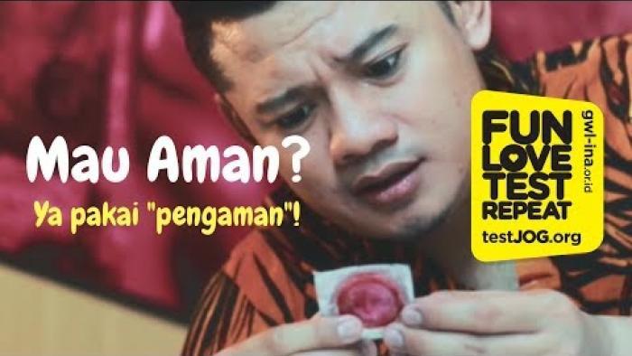 "Embedded thumbnail for Mau aman? Ya pake ""pengaman""!"